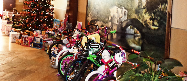 Toys donated by Zachry