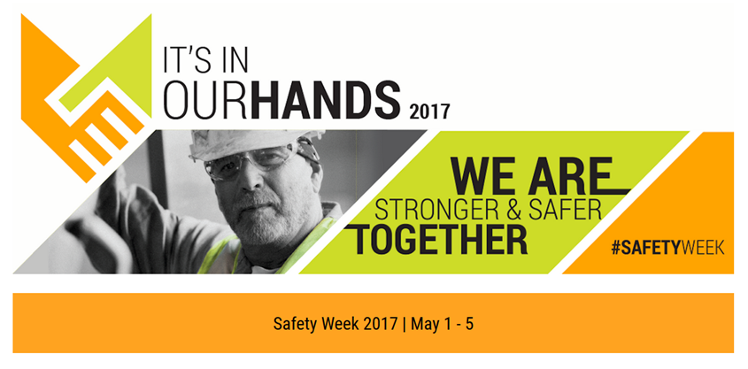 Logo for Safety Week 2017