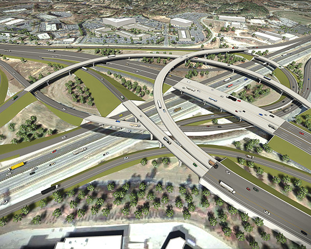 INTERSTATE 85/385 INTERCHANGE IMPROVEMENTS