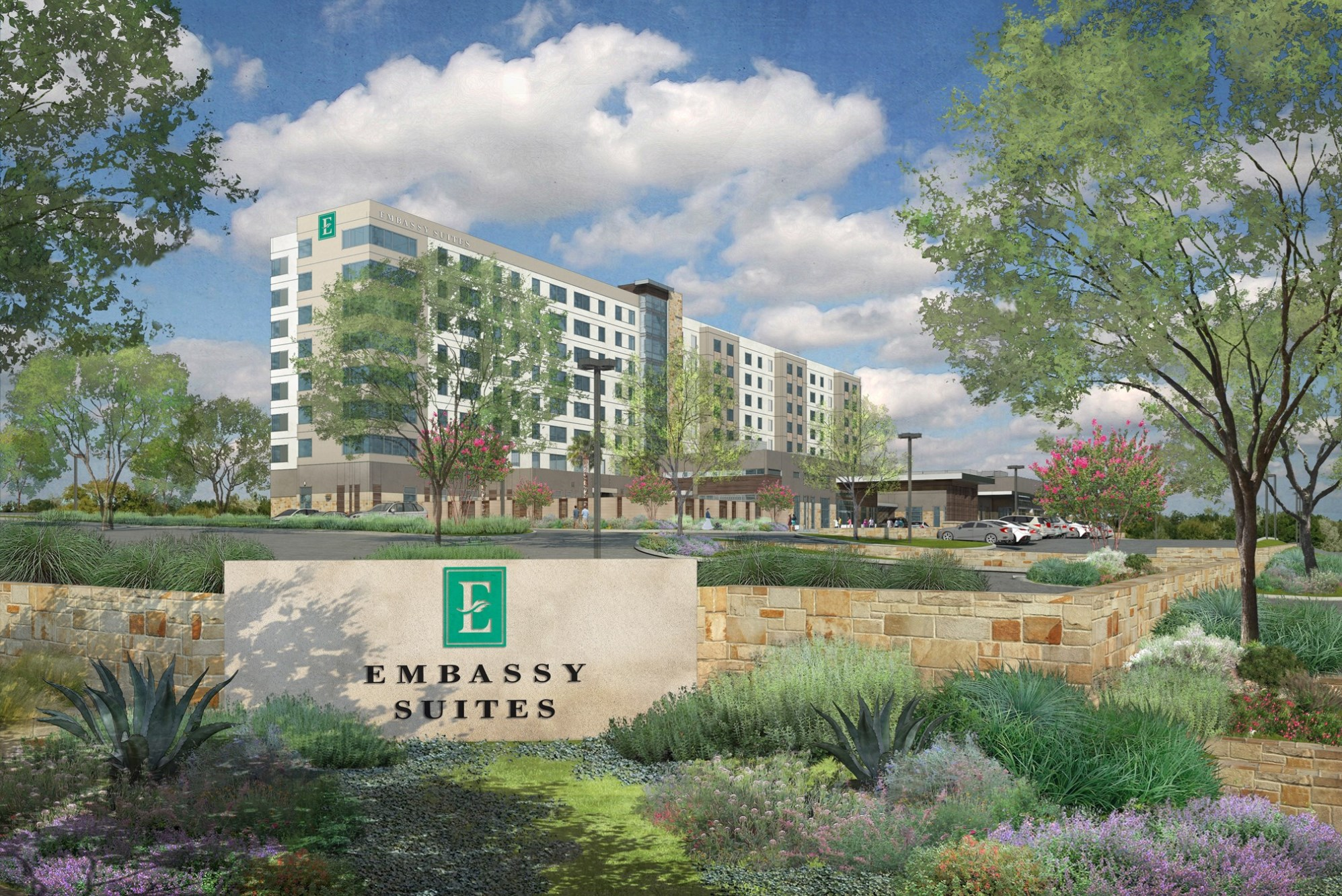Image for project Embassy Suites Landmark Centre
