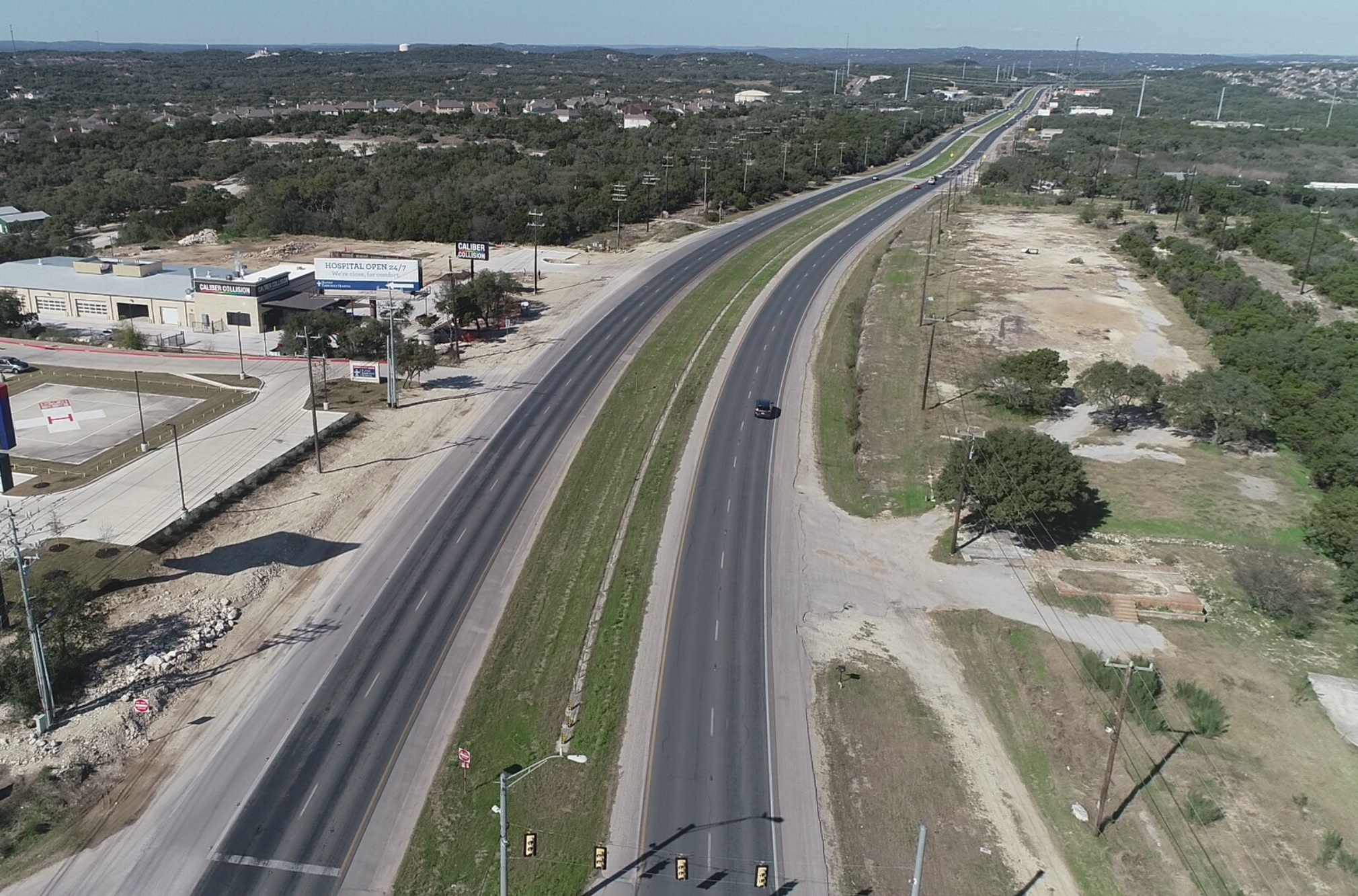 US281 Stone Oak to Comal Masthead