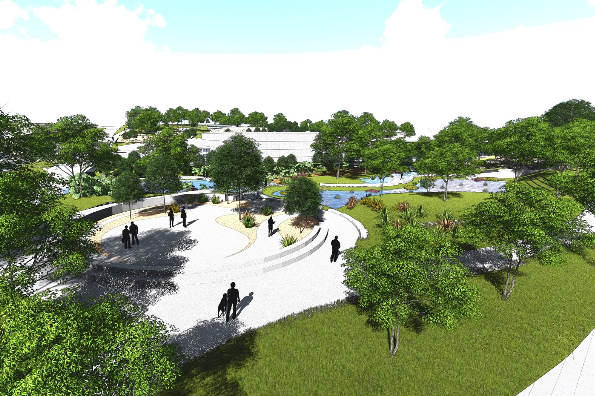 Image for project Waller Creek Chain of Parks